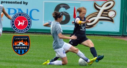 Lancaster Inferno Women's Soccer Team Lancaster Pennsylvania United Women's Soccer UWS