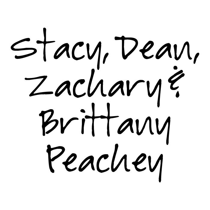 Dean, Stacy, Brittany & Zachary Peachey Lancaster Inferno Sponsor