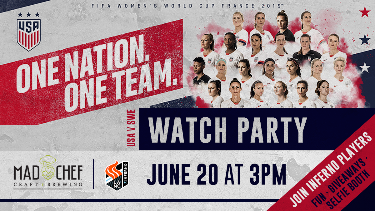 Mad Chef USWNT Viewing Party